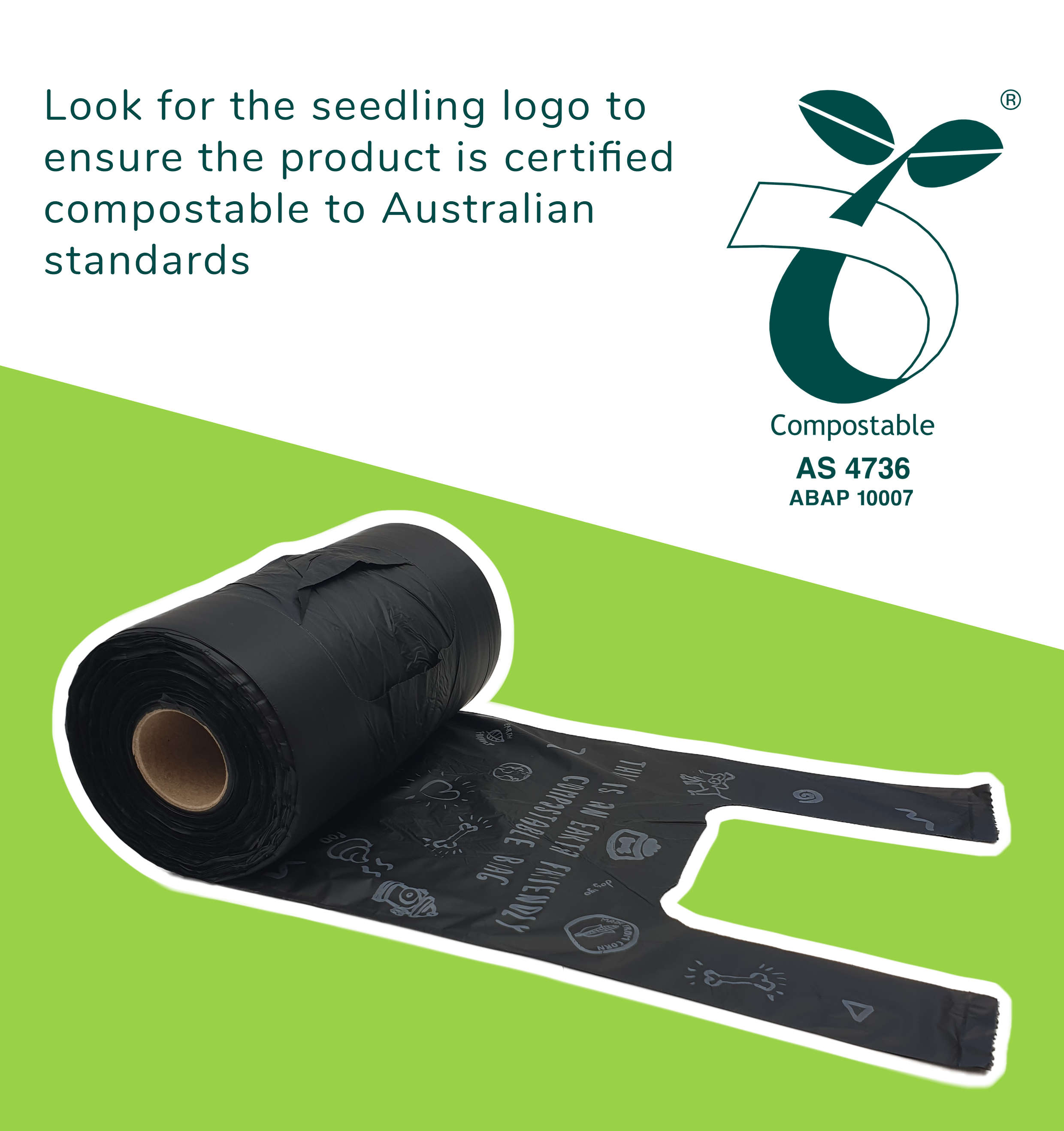 Compostable bags for best practice organic waste management – Cardia